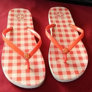 Tory Burch sandals flip flops.